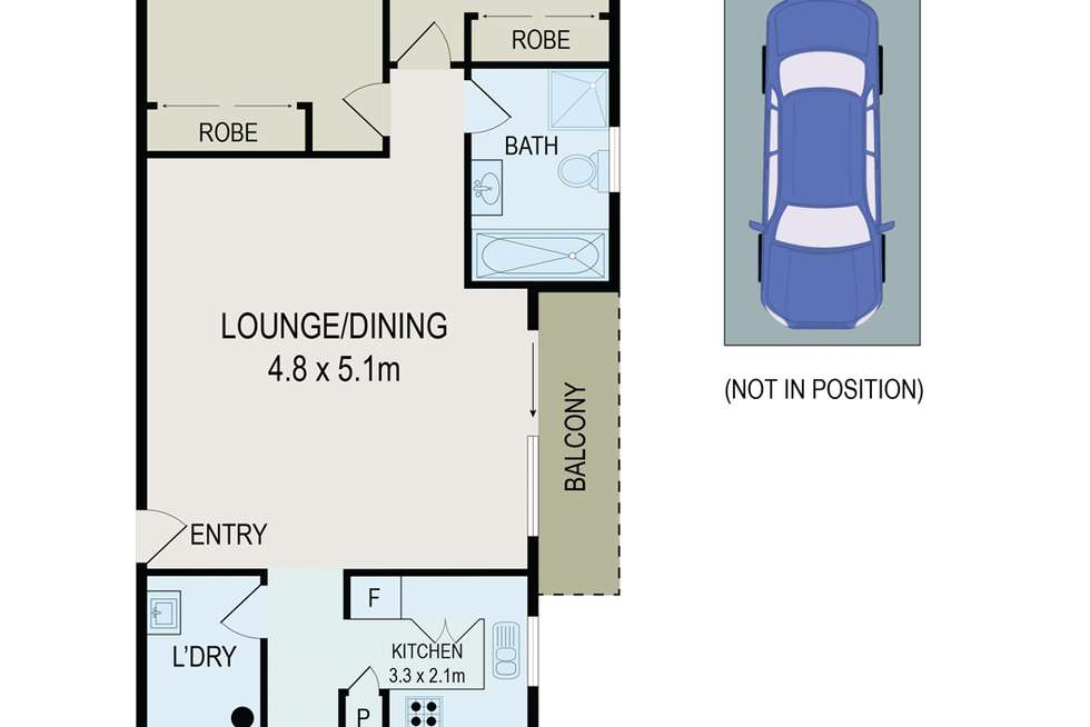 Floorplan of Homely unit listing, 6/44-50 Meehan Street, Granville NSW 2142