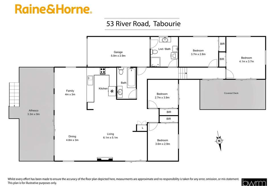Floorplan of Homely house listing, 53 River Road, Lake Tabourie NSW 2539