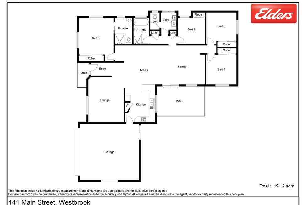 Floorplan of Homely house listing, 141 Main Street, Westbrook QLD 4350