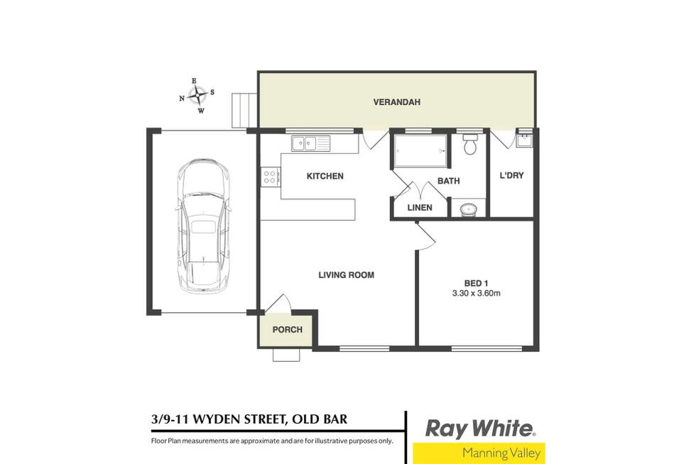 Floorplan of Homely villa listing, 3/9-11 Wyden Street, Old Bar NSW 2430