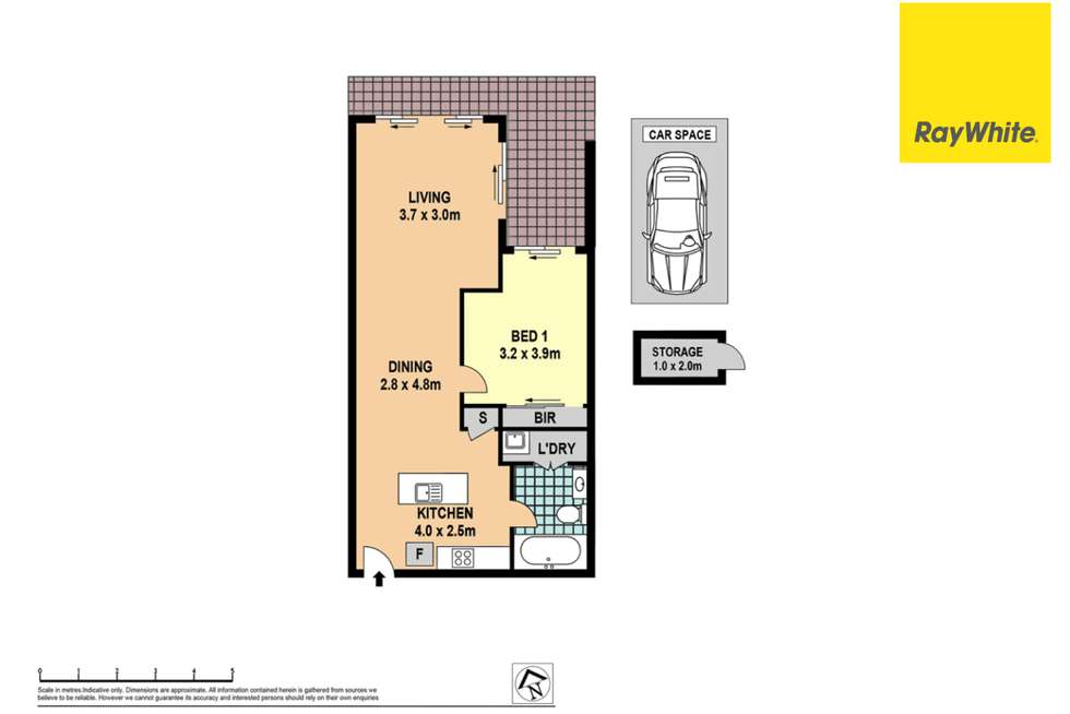 Floorplan of Homely apartment listing, 427/22 Baywater Drive, Wentworth Point NSW 2127