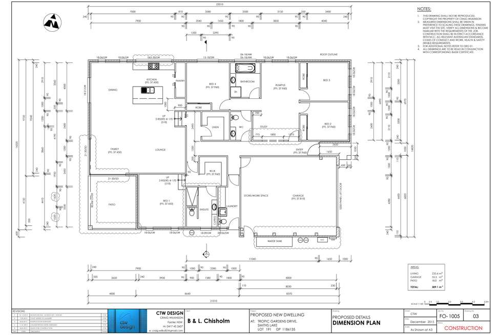 Floorplan of Homely house listing, 18 Tropic Gardens, Smiths Lake NSW 2428