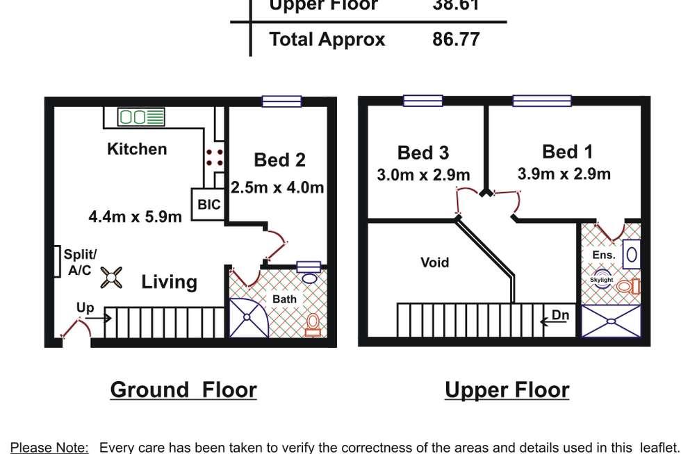 Floorplan of Homely apartment listing, 9/29-31 Compton Street, Adelaide SA 5000