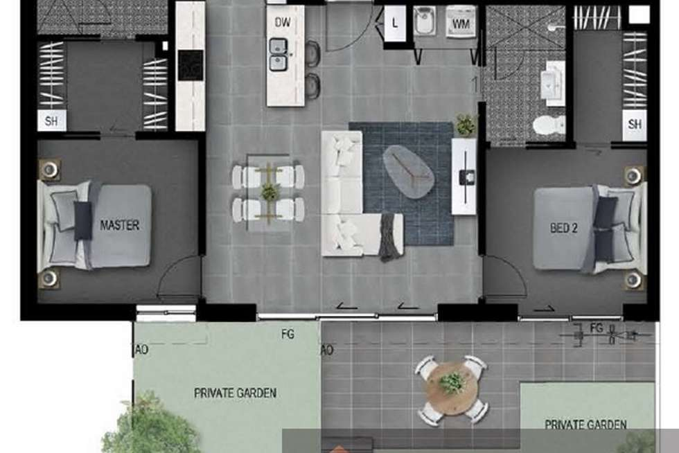 Floorplan of Homely apartment listing, 12/ 68 Lagonda Street, Annerley QLD 4103