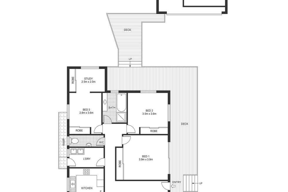 Floorplan of Homely house listing, 64 Huntly Road, Bensville NSW 2251