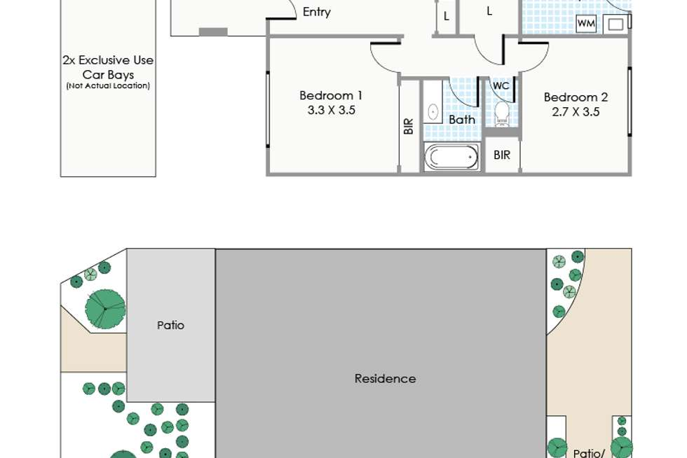 Floorplan of Homely unit listing, 10/10 Aberdare Road, Shenton Park WA 6008