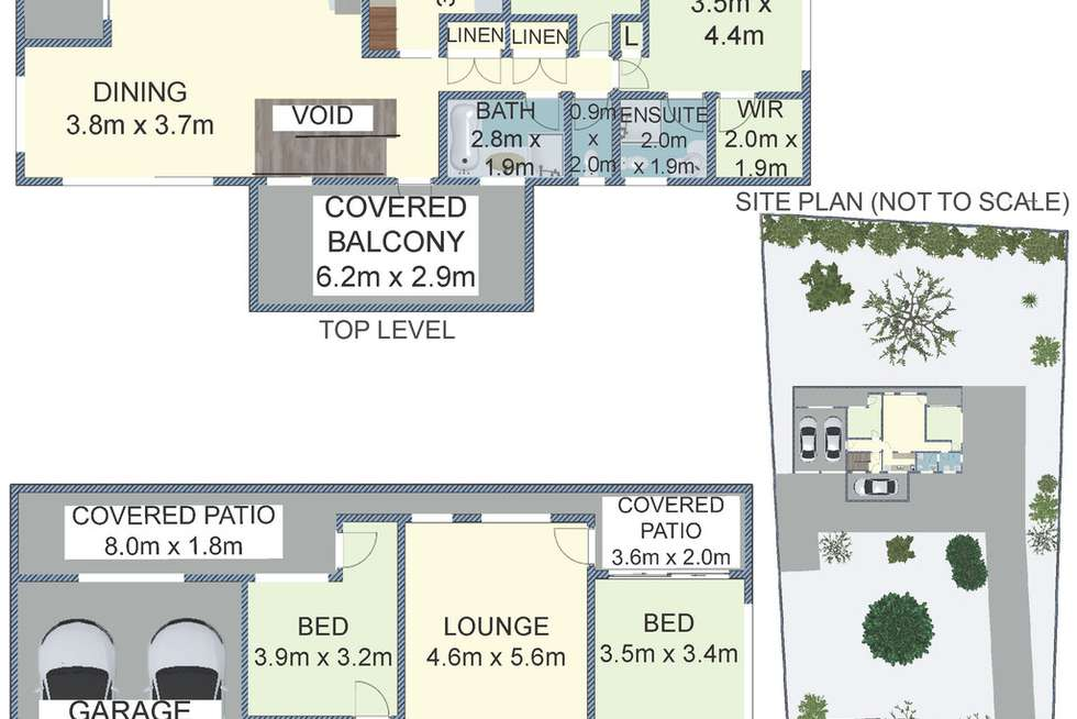 Floorplan of Homely house listing, 12 Central Avenue, Nords Wharf NSW 2281