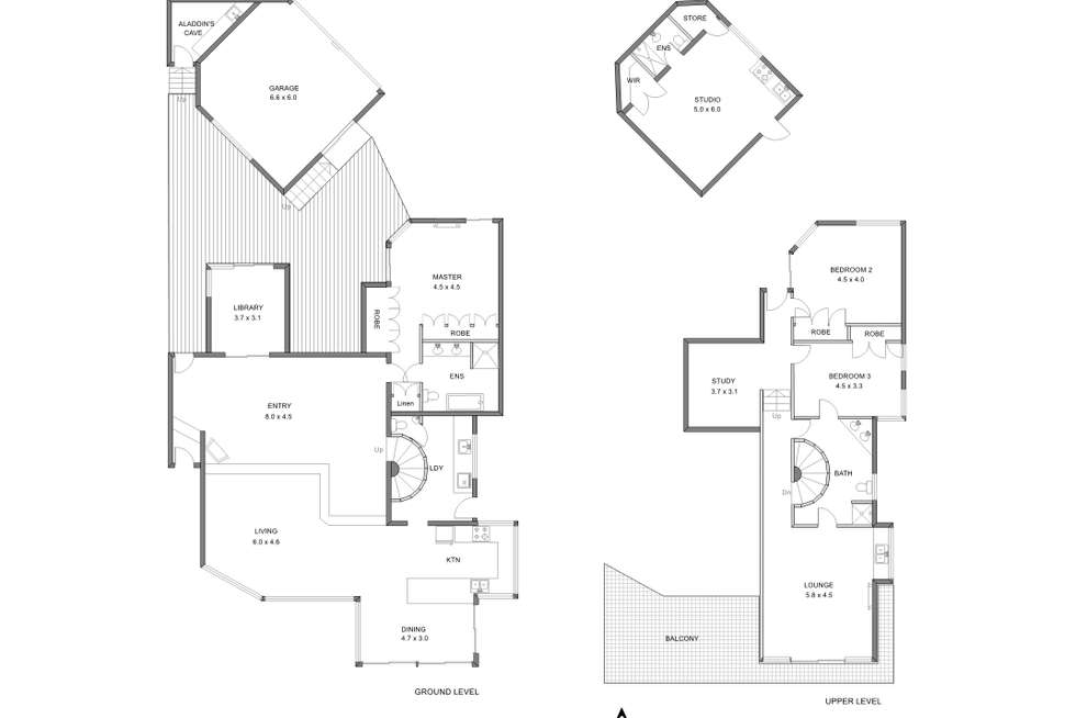 Floorplan of Homely house listing, 14a Lake Avenue, Shenton Park WA 6008