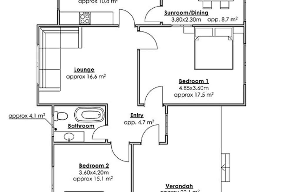 Floorplan of Homely house listing, 13 Olympia Street, Taree NSW 2430