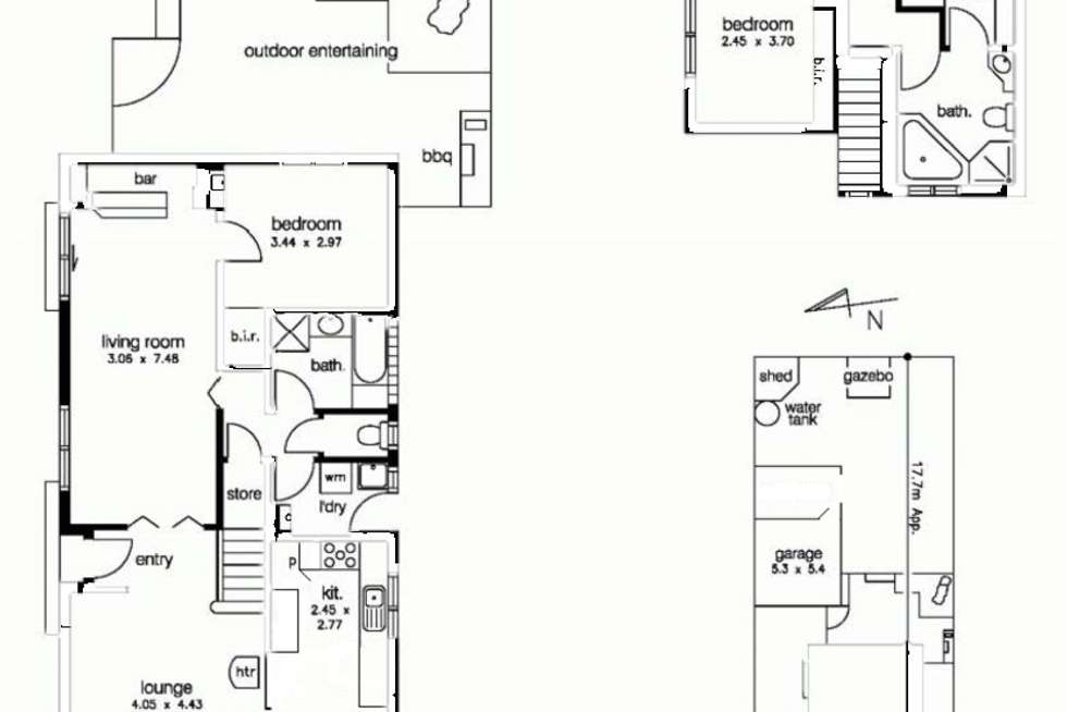 Floorplan of Homely house listing, 31 Linden Street, Altona Meadows VIC 3028
