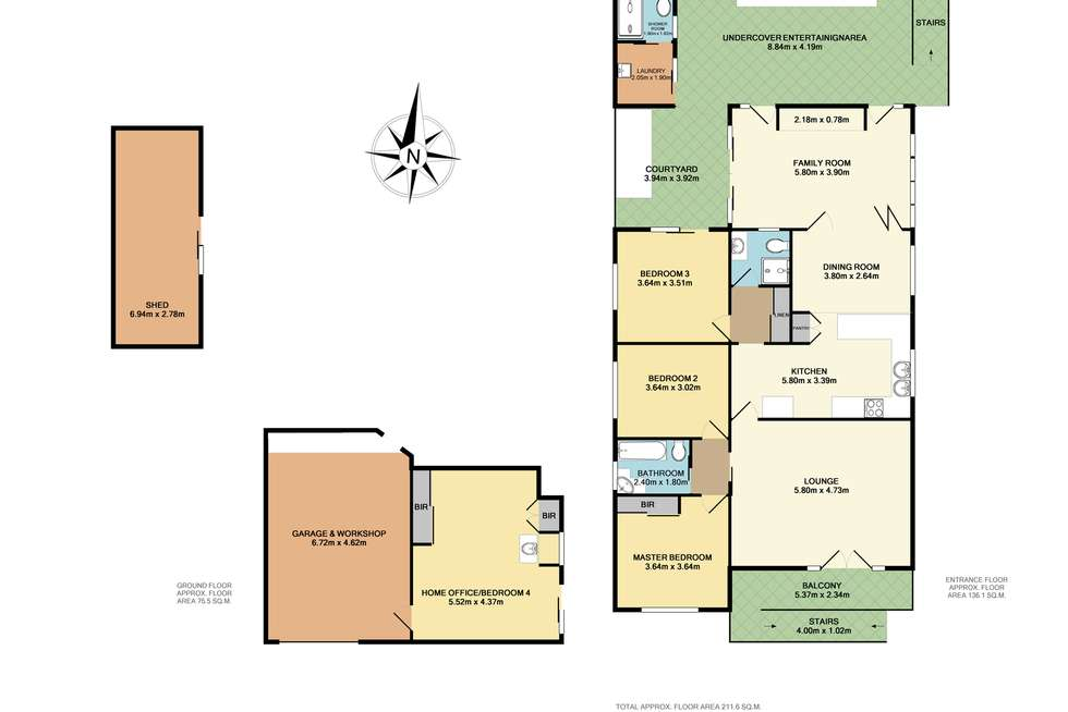 Floorplan of Homely house listing, 58 Ocean Street, Mount Saint Thomas NSW 2500