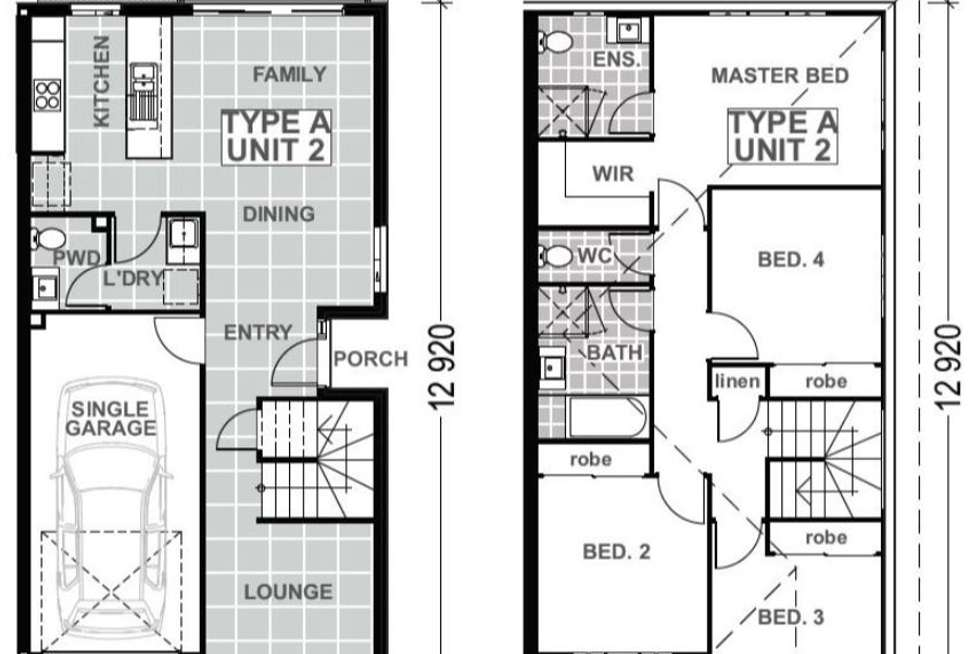 Floorplan of Homely townhouse listing, 91 370 GAINSBOROUGH DRIVE, Pimpama QLD 4209