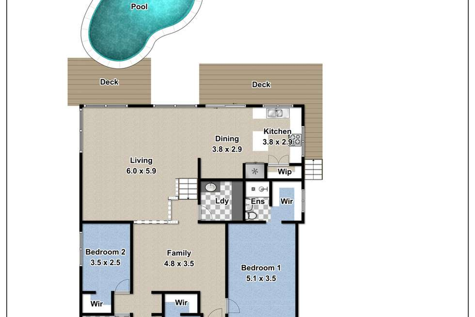 Floorplan of Homely house listing, 8 Durness Place, St Andrews NSW 2566