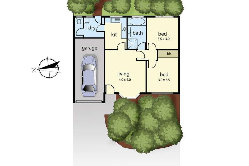 Floorplan of Homely house listing, 5/10 Spring Street, Hastings VIC 3915