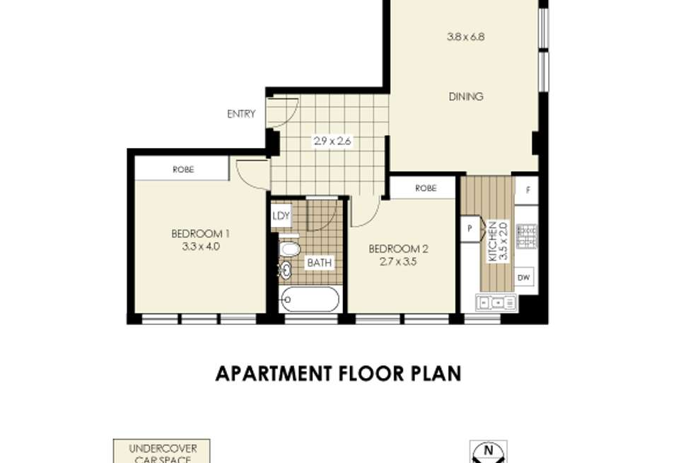 Floorplan of Homely unit listing, Address available on request