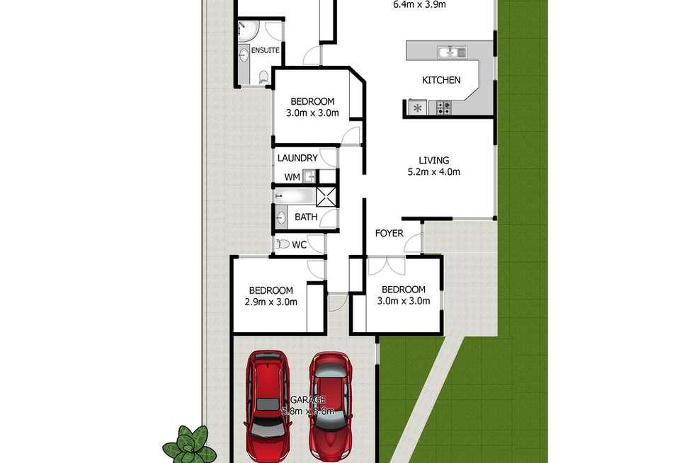 Floorplan of Homely house listing, 9 MELASTOMA WAY, Arundel QLD 4214