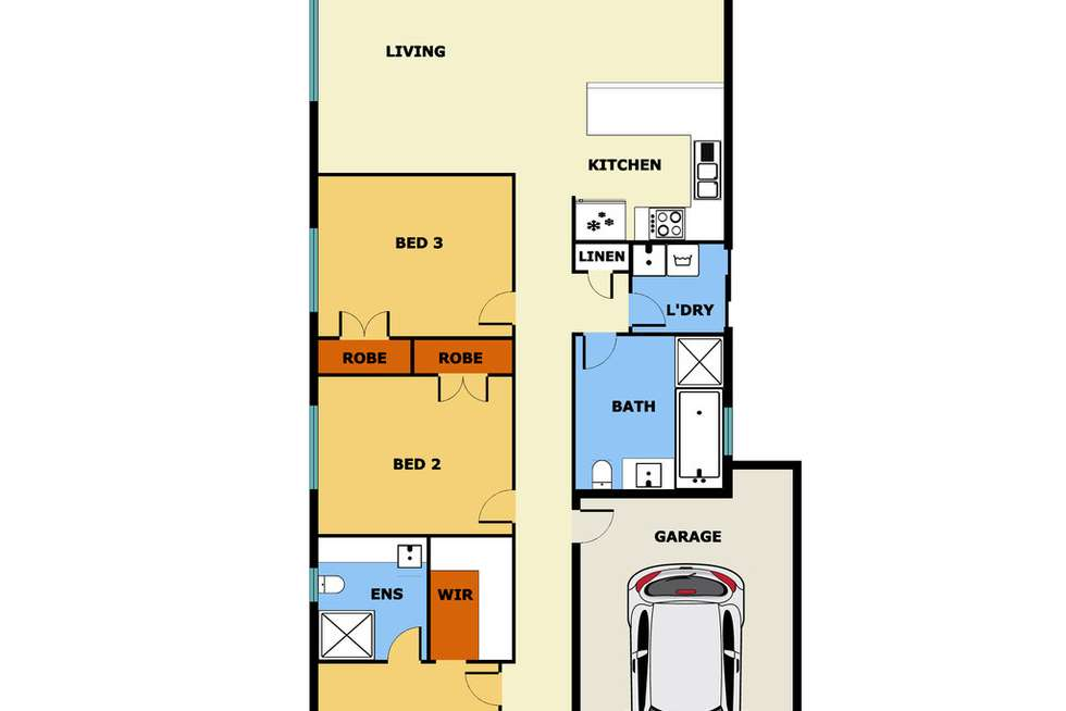 Floorplan of Homely house listing, 12 Armstrong Street, Laverton VIC 3028