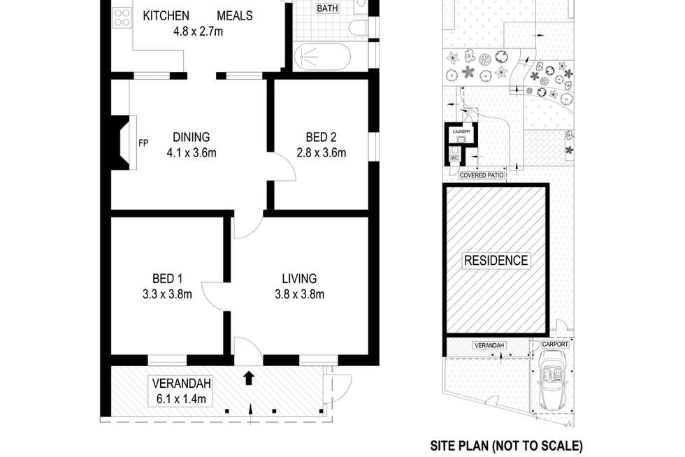 Floorplan of Homely house listing, 19 Manning Street, Rozelle NSW 2039