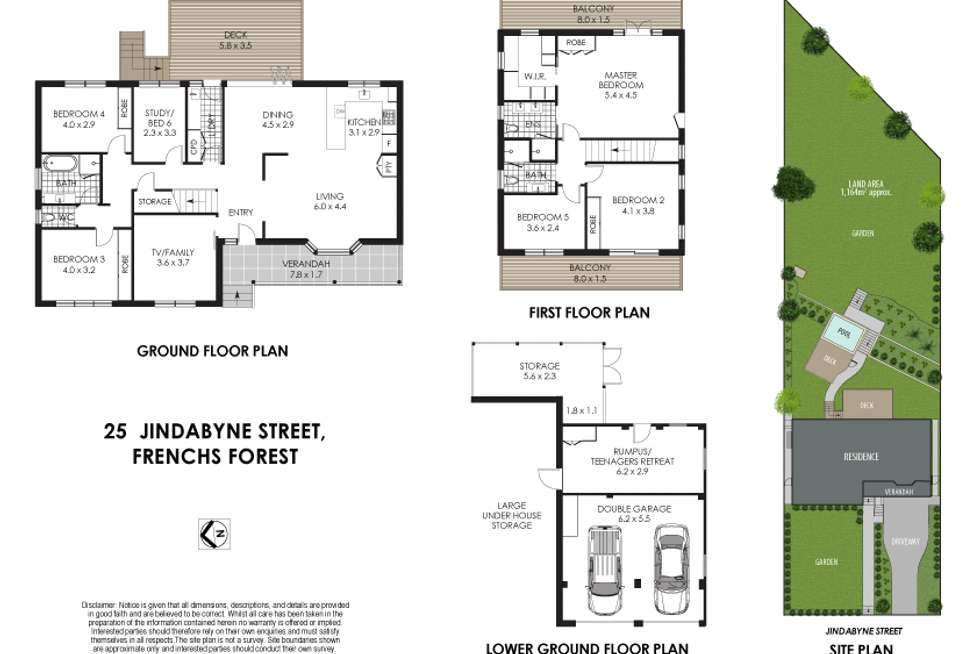 Floorplan of Homely house listing, 25 Jindabyne Street, Frenchs Forest NSW 2086