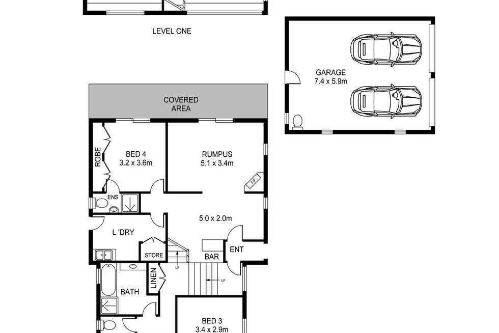 Floorplan of Homely house listing, 31 Hillcrest Road, Empire Bay NSW 2257