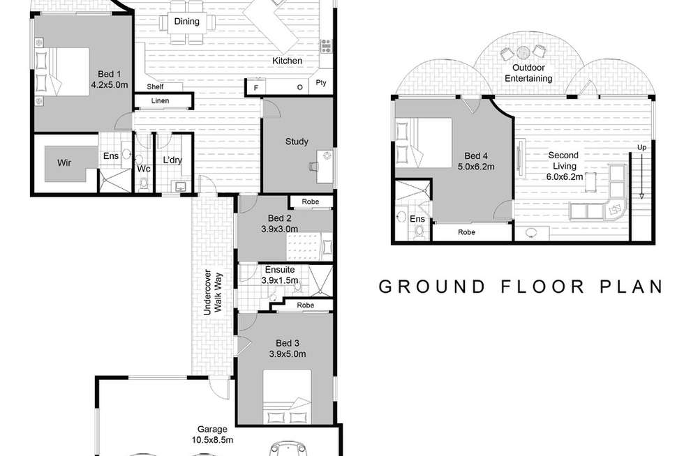 Floorplan of Homely house listing, 116 Ocean Parade, Blue Bay NSW 2261