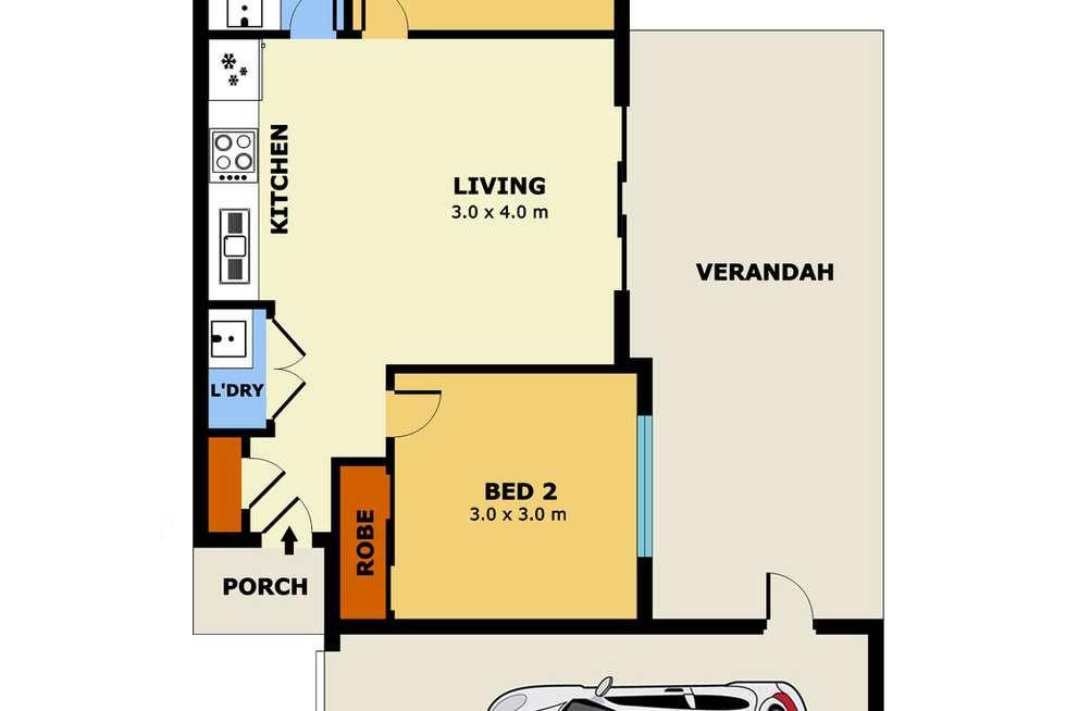 Floorplan of Homely house listing, 3/31 Heffernan Street, Laverton VIC 3028