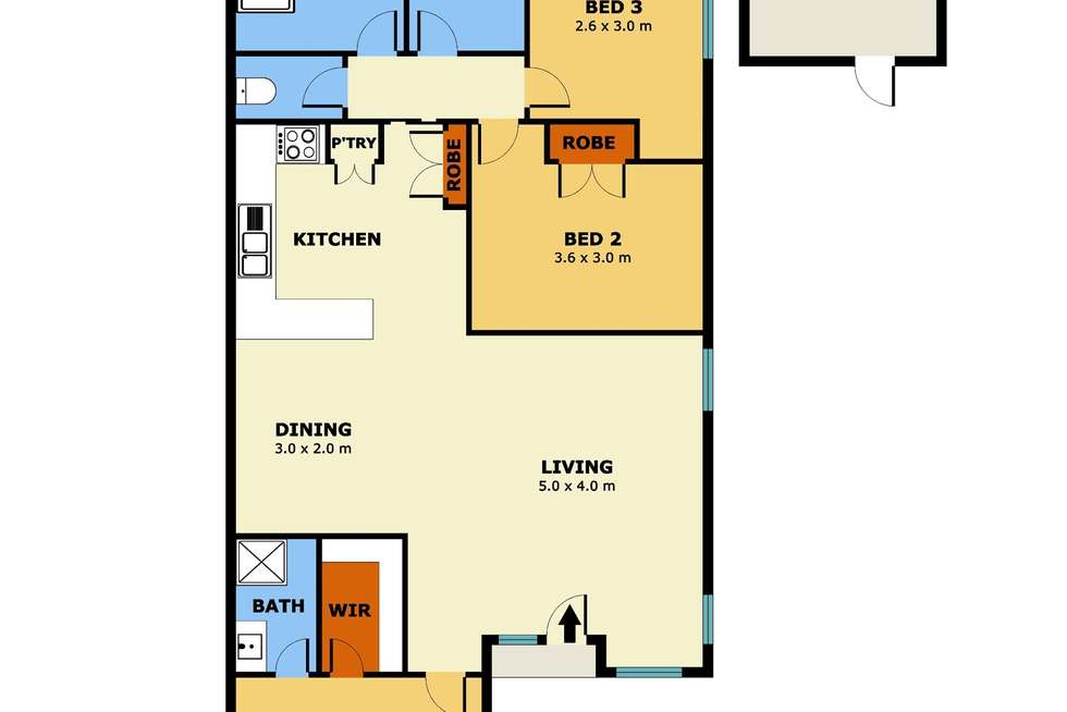 Floorplan of Homely house listing, 30 Whittaker Avenue, Laverton VIC 3028