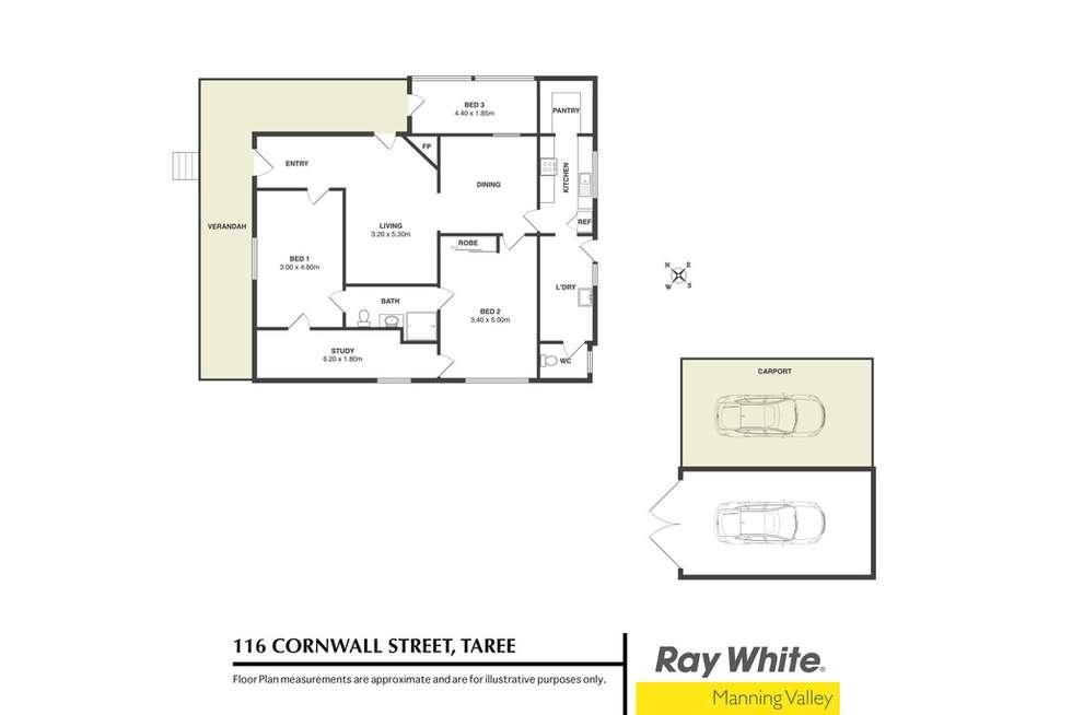 Floorplan of Homely house listing, 116 Cornwall Street, Taree NSW 2430
