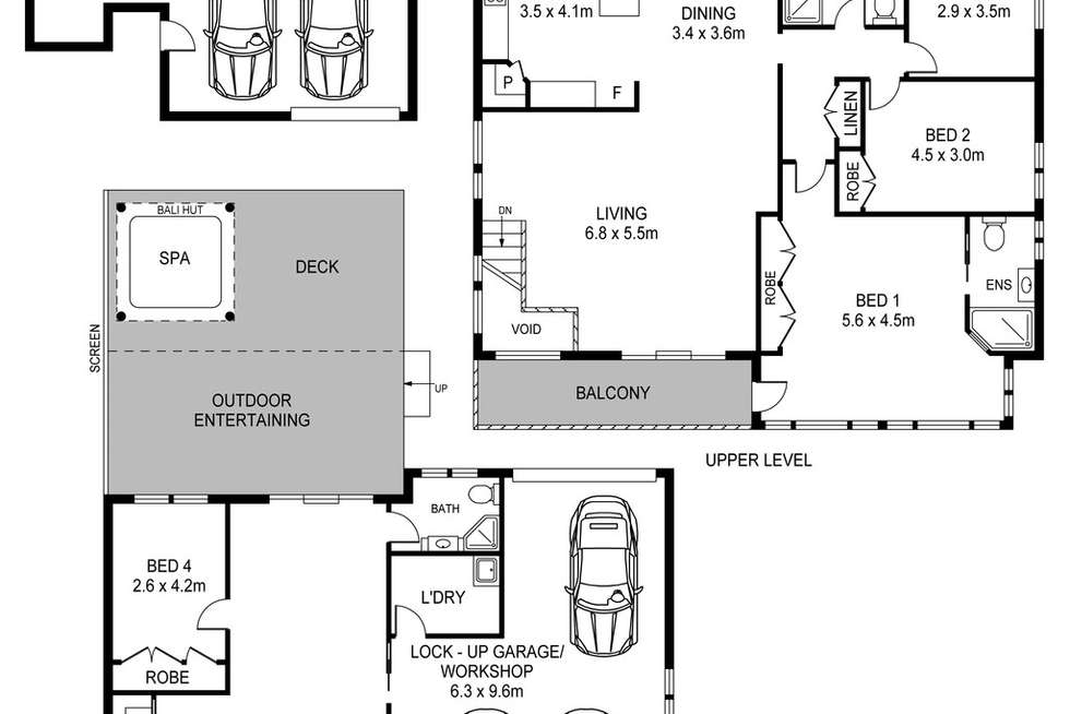 Floorplan of Homely house listing, 48 Kendall Road, Empire Bay NSW 2257