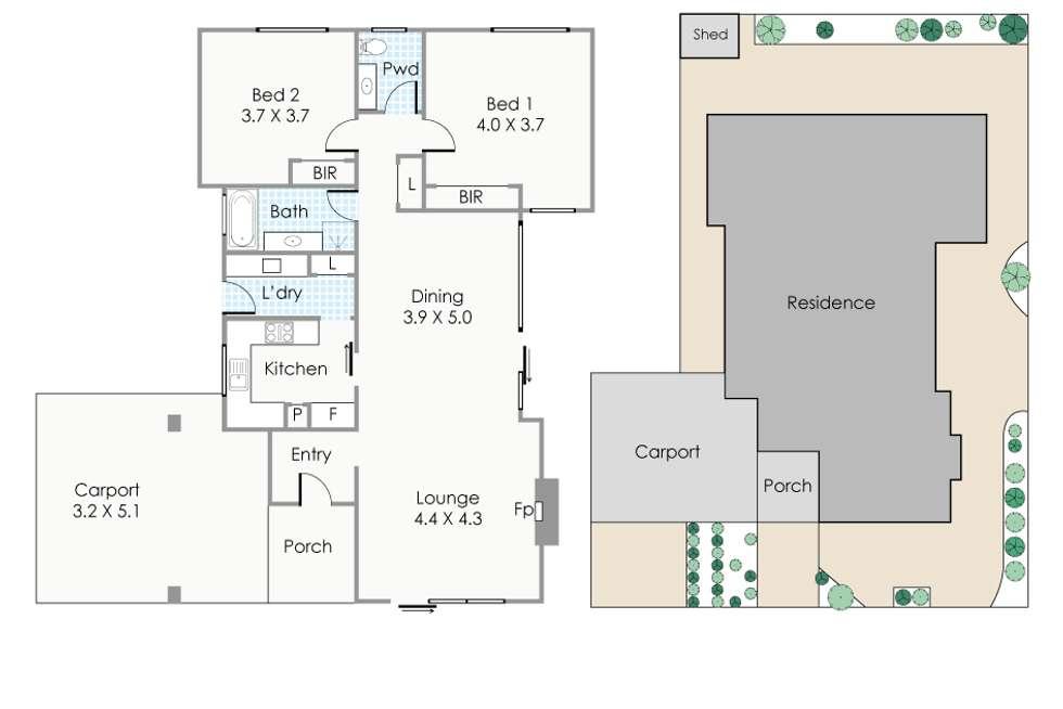 Floorplan of Homely house listing, 3 Fortune Street, Shenton Park WA 6008