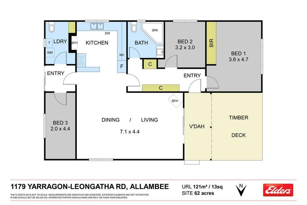 Floorplan of Homely mixedFarming listing, 62 ACRES YARRAGON-LEONGATHA ROAD-ALLAMBEE, Yarragon South VIC 3823