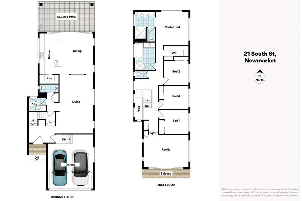 Floorplan of Homely house listing, 21 South Street, Newmarket QLD 4051