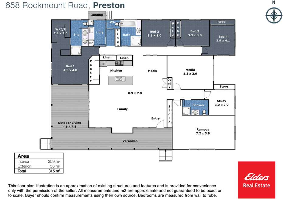 Floorplan of Homely house listing, 658 Rockmount Road, Preston QLD 4352