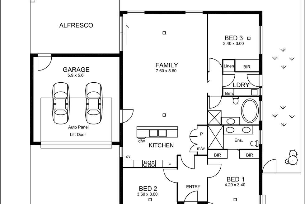 Floorplan of Homely house listing, Res 2, 25 Battams Road, Royston Park SA 5070