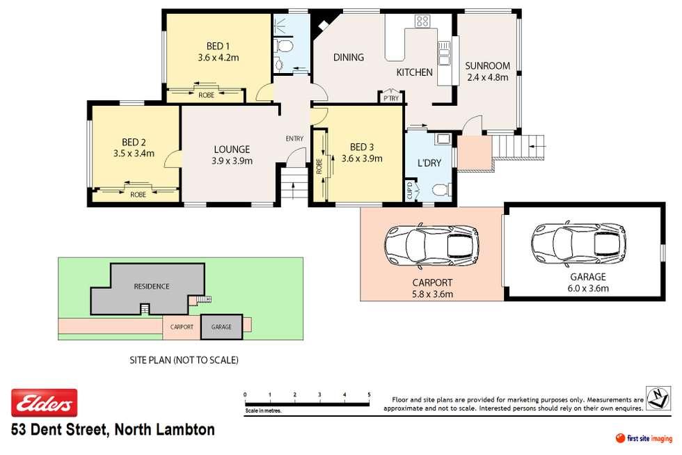 Floorplan of Homely house listing, 53 Dent Street, North Lambton NSW 2299