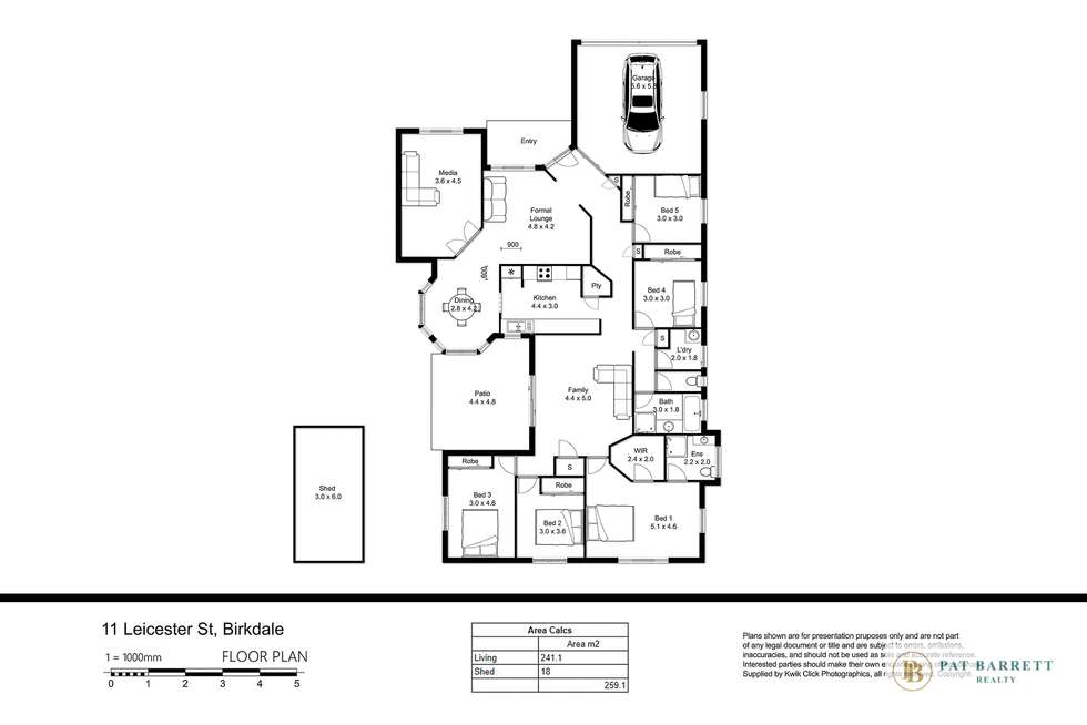 Floorplan of Homely house listing, 11 Leicester Street, Birkdale QLD 4159