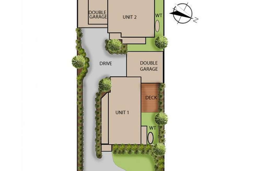 Floorplan of Homely residentialLand listing, 32 Wattle Road, Mccrae VIC 3938