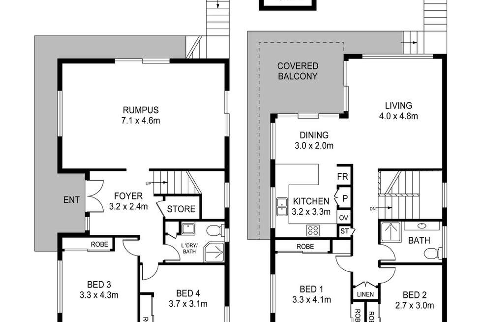 Floorplan of Homely house listing, 21 Commonwealth Avenue, Blackwall NSW 2256