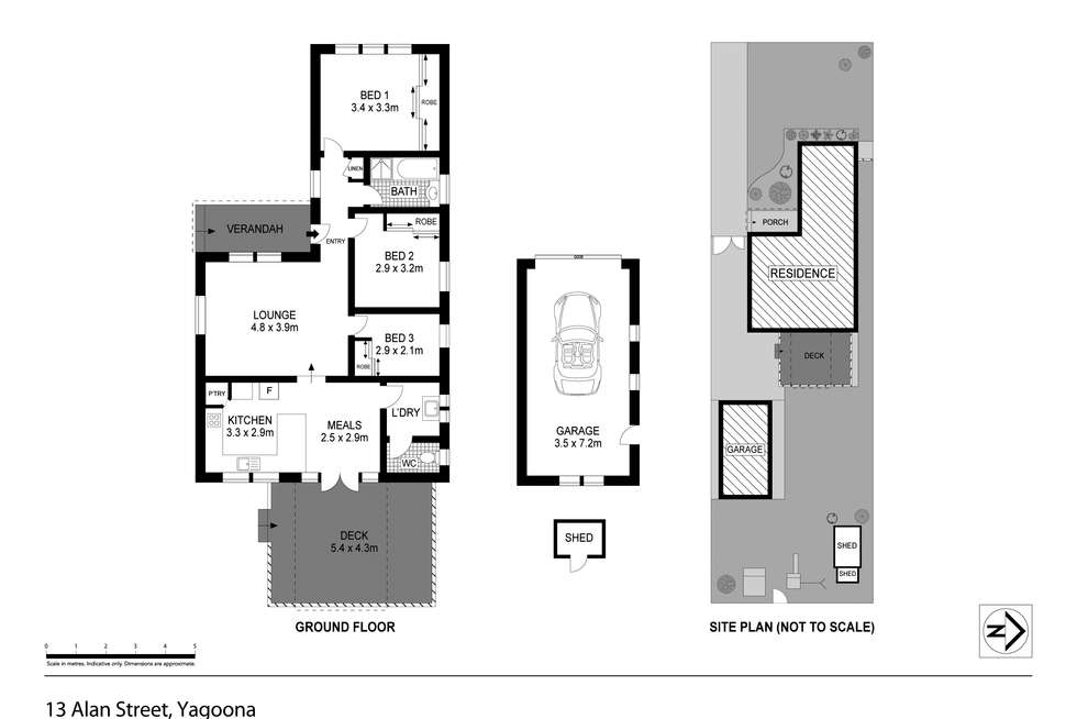 Floorplan of Homely house listing, 13 Alan Street, Yagoona NSW 2199