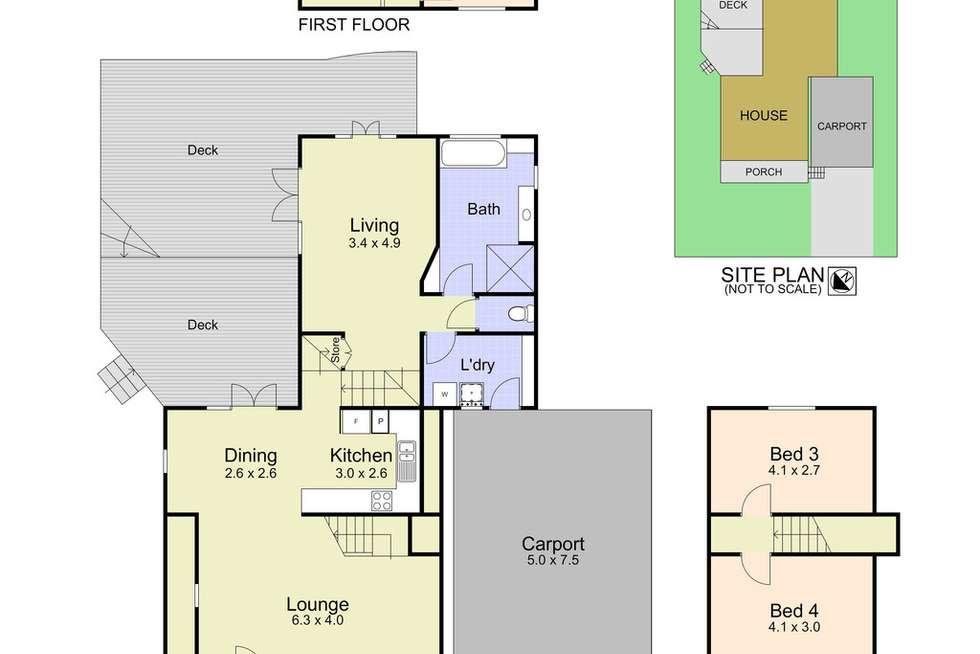 Floorplan of Homely house listing, 13 Fourth Ridge Road, Smiths Lake NSW 2428