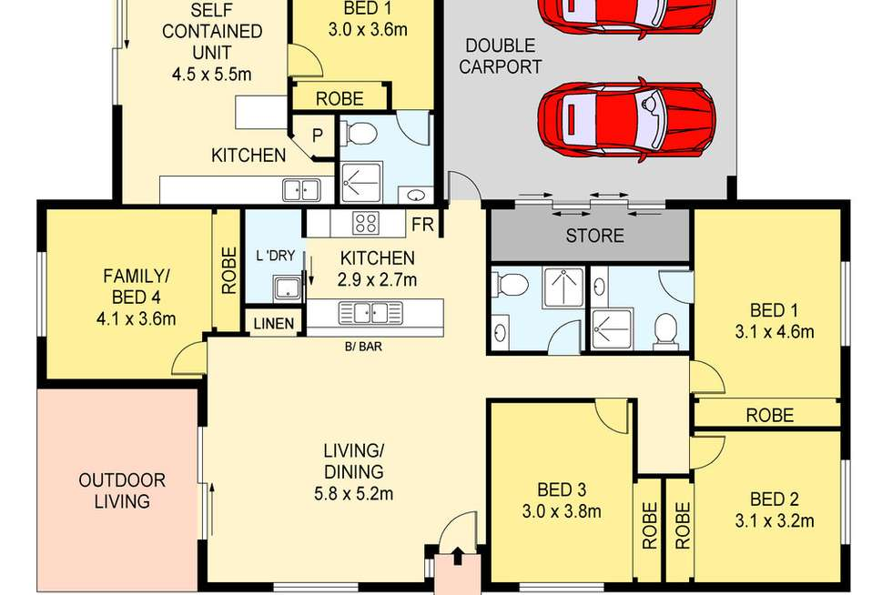 Floorplan of Homely house listing, 18 Jelley Crescent, Muirhead NT 810