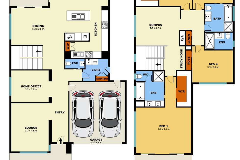 Floorplan of Homely house listing, 7 Amersfort Street, Point Cook VIC 3030