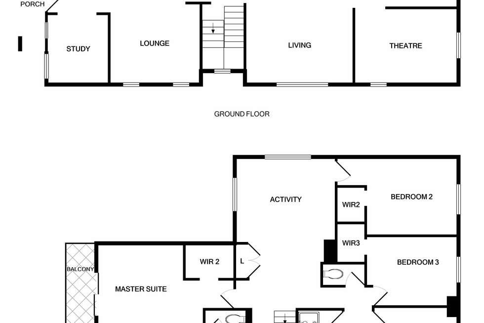 Floorplan of Homely house listing, 23 Lamada Street, Lyndhurst VIC 3975