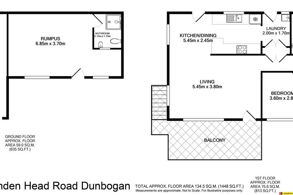 Floorplan of Homely house listing, 160 Camden Head Rd, Dunbogan NSW 2443