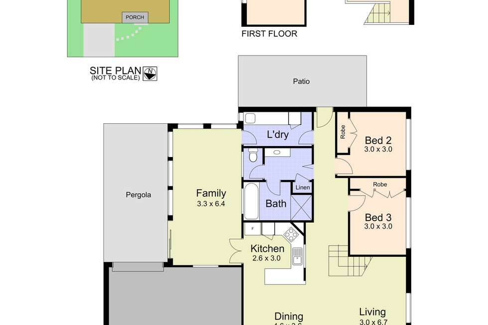 Floorplan of Homely house listing, 14 Keith Crescent, Smiths Lake NSW 2428