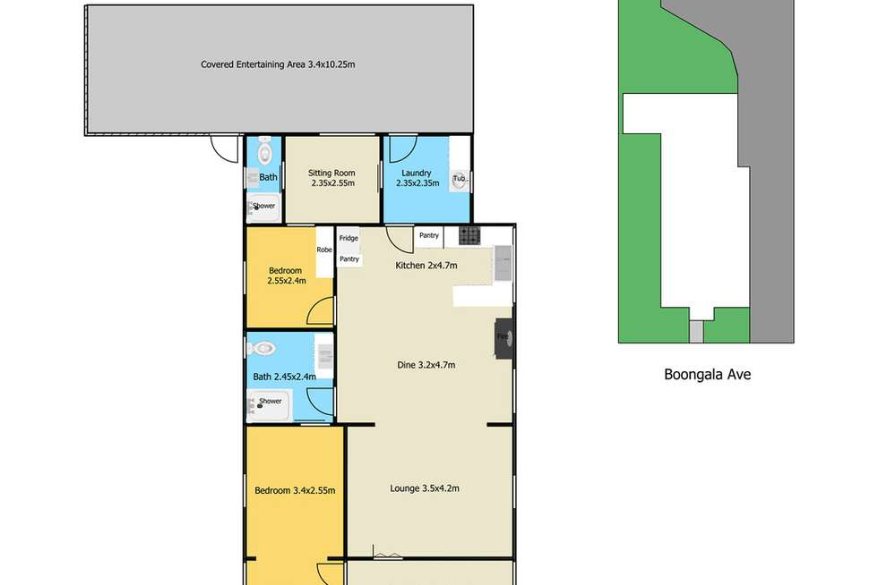 Floorplan of Homely house listing, 13 Boongala Avenue, Empire Bay NSW 2257