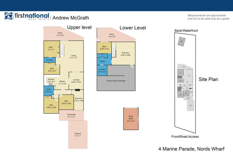 Floorplan of Homely house listing, 4 Marine Parade, Nords Wharf NSW 2281