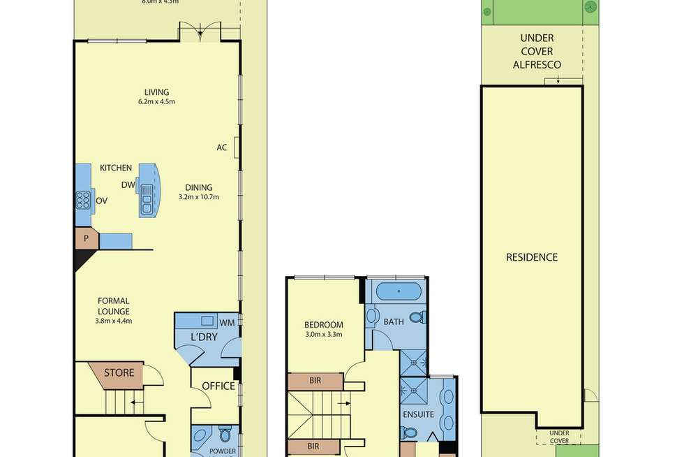 Floorplan of Homely townhouse listing, 199A Belmore Road, Balwyn North VIC 3104