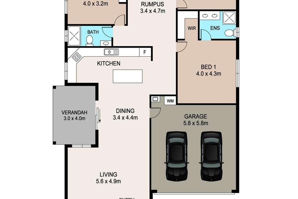 Floorplan of Homely house listing, 48 Saunders Street, Muirhead NT 810