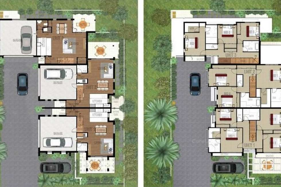 Floorplan of Homely townhouse listing, 1/7 Bambarra Street, Southport QLD 4215
